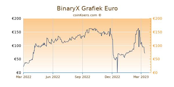 BinaryX Grafiek 1 Jaar