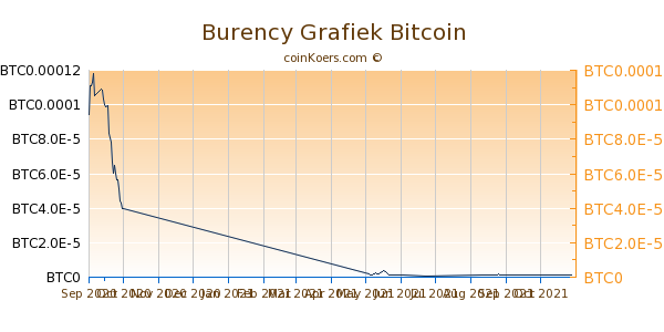 Burency Grafiek 1 Jaar