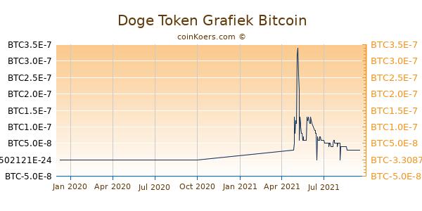 Doge Token Grafiek 1 Jaar