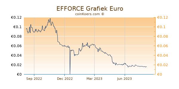 EFFORCE Grafiek 1 Jaar