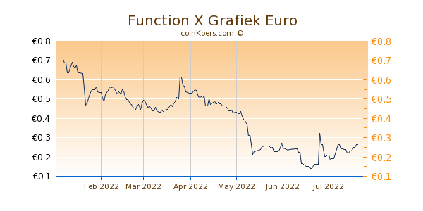 Function X Grafiek 6 Maanden