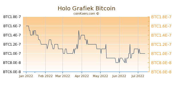 Holo Grafiek 6 Maanden