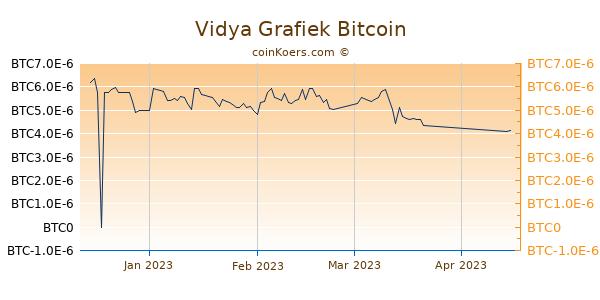 Vidya Grafiek 3 Maanden